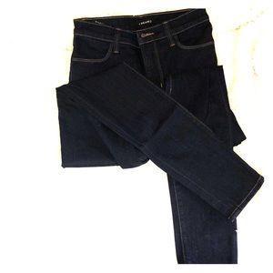 Denim Skinny Jeans. Indigo Dyed. J Brand.